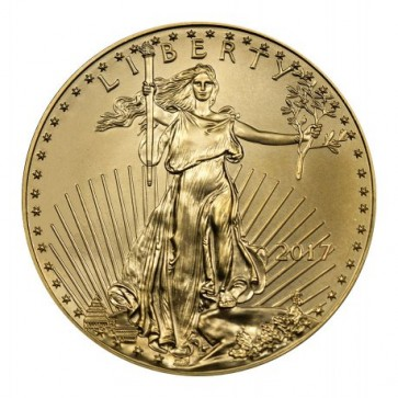 American Gold Eagle 1/4 oz - Front
