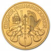 Austrian Gold Philharmonic 1 oz Coin