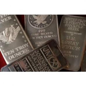 10 oz .999 Generic Silver Bar (Sealed)