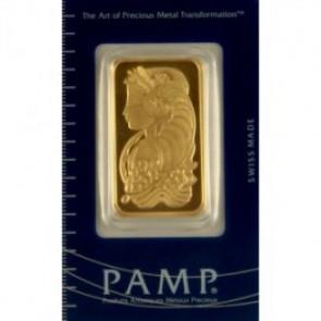 PAMP Suisse Fortuna 1 oz Gold Bar