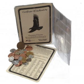 Bird Coins of the World:  A Set of 40 Coins
