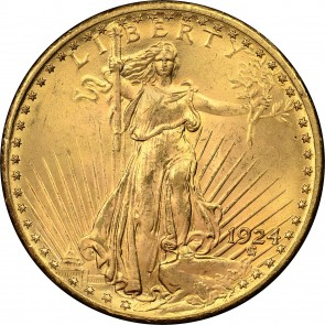 $20 Saint-Gaudens Double Eagle (BU)