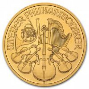Austrian Gold Philharmonic 1 oz Coin