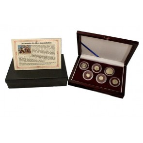 Crusader: Friends & Foes, Box of 6 Silver Medieval Coins