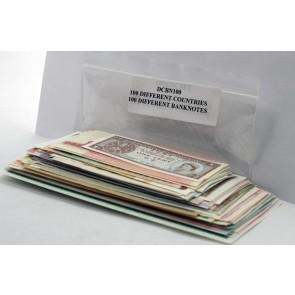 100 banknotes, 100 different countries (U)