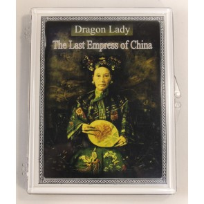 Qing Dynasty Cash Coin of the Last Empress of China Clear Box
