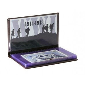 The Shot Heard Round the World: WWI 6 Banknote Collection Folio