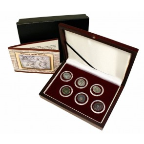 The Fracture of Imperial Rome: Gallic Empire, a Box of 6 Coins