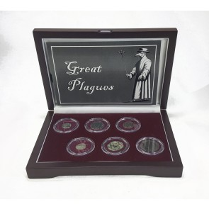 Great Plagues: Six Coin Boxed Collection