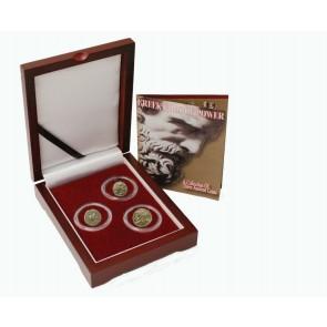 Greek Gods of Power: Box of 3 Ancient Greek Bronze Coins