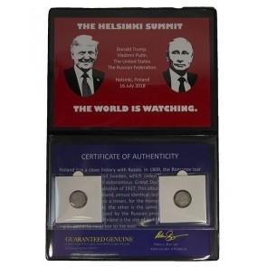 The Helsinki Summit: Trump and Putin Album.