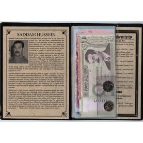 Saddam Hussein: Dictator Of Iraq Album (AU-UNC)