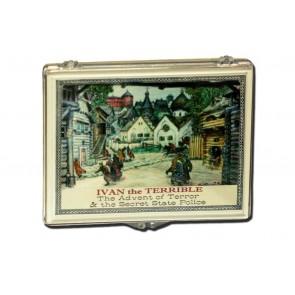 Ivan the Terrible, Silver Kopek Coin Clear Box