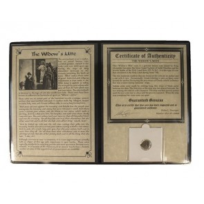 Widow's Mite Bronze Prutah Coin Album (B)(Medium Grade) (B)(Medium Grade)