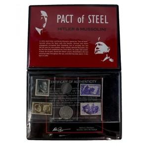 Pact of Steel: Hitler & Mussolini 6-Piece Album