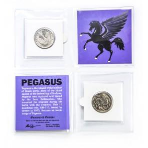 Pegasus 10 drachmai Greek Coin Mini Album