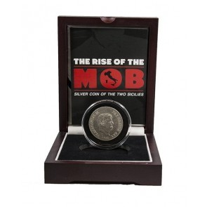 The Rise of the Mob:-Silver Coin of the Two Sicilies Box