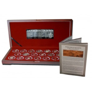 Ancient Coins of the Silk Road: Box of 20 Silver Coins