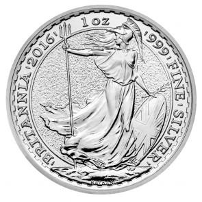 BU Silver Britannia 1 oz Coin (10 Round Minimum)