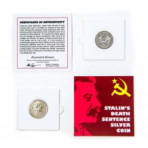 Stalin's Death Sentence Silver Coin (Mini Album)