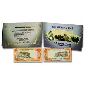 Vietnam 500 Dong Single Banknote Folder
